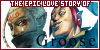 The Epic Love Story of Groose...and Impa (Groose and Impa from Legend of Zelda: Skyward Sword)